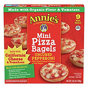 Annie's Homegrown Uncured Pepperoni Mini Pizza Bagels