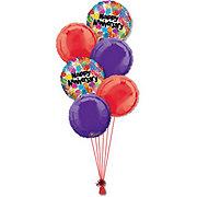 Anniversary Half Dozen Balloon Bouquet
