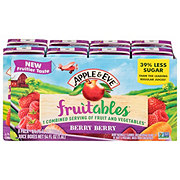 Apple & Eve Fruitables Fruit and Vegetable Berry Berry Juice Beverage 6.75 oz Boxes