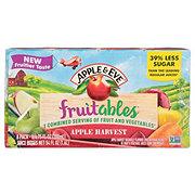 Apple & Eve Fruitables Fruits and Vegetables Apple Harvest Juice Beverage 6.75 oz Boxes
