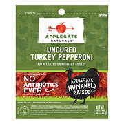 Applegate Natural Mini Turkey Pepperoni Slices