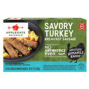 Applegate Natural Savory Turkey Breakfast Sausage