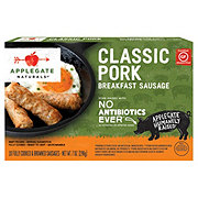 Applegate Naturals Classic Pork Breakfast Sausage