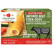 Applegate Naturals Gluten Free Uncured Beef Corn Dogs