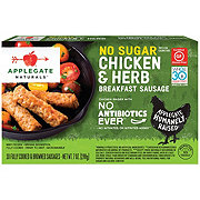 Applegate Naturals No Sugar Chicken Herb Breakfast Sausage