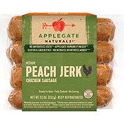 Applegate Naturals Peach Jerk Sausage