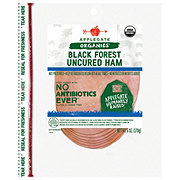 Applegate Naturals Uncured Black Forest Ham Slices
