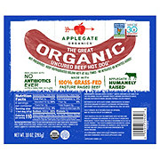 Applegate Organic Original Beef Uncured Hot Dogs