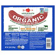 Applegate Organic Original Beef Uncured Hot Dogs