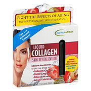 Applied Nutrition Liquid Collagen Skin Revitalization, Strawberry& Kiwi Flavored