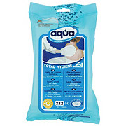 Aqua Pre-Moistened Total Hygiene Wash Glove