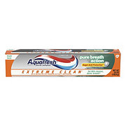 Aquafresh Extreme Clean Pure Breath Action Fresh Mint Fluoride Toothpaste