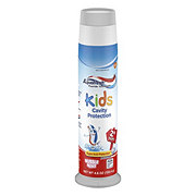 Aquafresh Kids Cavity Protection Fluoride Toothpaste, Bubble Mint