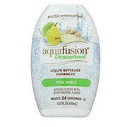 Aquafusion Unsweetened Pear Ginger Liquid