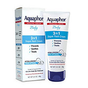 Aquaphor Healing Baby Diaper Rash Cream
