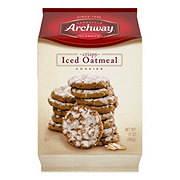 Archway Classics Crispy Iced Oatmeal Cookies