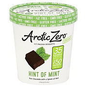 Arctic Zero Frozen Desserts, Hint Of Mint Ice Cream
