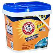 Arm & Hammer Alpine Clean Powder Laundry Detergent Bucket, 185 Loads