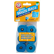 Arm & Hammer Blue Fresh Scent Refill Waste Bags for Dispensers