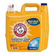 Arm & Hammer Clean Burst Mega Value Liquid Detergent, 170 Loads