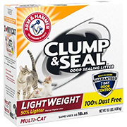 Arm & Hammer Clump & Seal Multi-Cat Lightweight Liter
