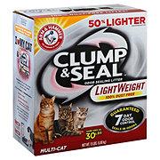 Arm & Hammer Clump & Seal Multi-Cat Lightweight Litter