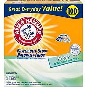 Arm & Hammer Concentrated Powder Laundry Detergent, 100 Loads