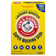Arm & Hammer Detergent Booster and Household Cleaner Super Washing Soda