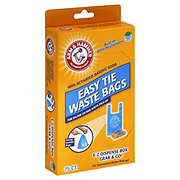 Arm & Hammer Easy Tie Fresh Scent Waste Bags