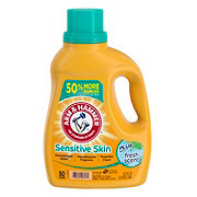 Arm & Hammer For Sensitive Skin Fresh Scent Plus Detergent, 50 Loads