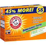 Arm & Hammer Free of Perfumes Powder Laundry Detergent 54 Loads