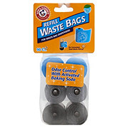 Arm & Hammer Fresh Scent Refill Waste Bags for Dispensers, Assorted Colors