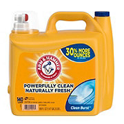 Arm & Hammer HE 2X Ultra Clean Burst Liquid Detergent 140 Loads