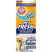 Arm & Hammer Pet Fresh Carpet Odor Eliminator Plus Oxi Clean Dirt Fighters