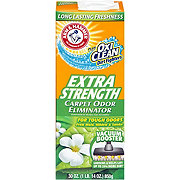 Arm & Hammer Plus Oxi Clean Odor and Dirt Eliminator For Carpet and Room Extra Strength