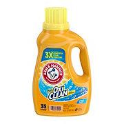 Arm & Hammer Plus OxiClean Fresh Scent Liquid Detergent, 35 Loads