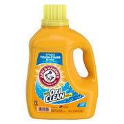 Arm & Hammer Plus OxiClean Fresh Scent Liquid Laundry Detergent, 70 Loads