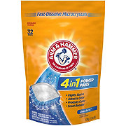 Arm & Hammer Power Packs Crystal Burst with OxiClean Stain Fighters 27 Loads