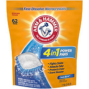 Arm & Hammer Power Paks Plus OxiClean CleanBurst HE Laundry Detergent Pacs