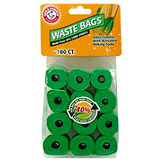 Arm & Hammer Refill Waste Bags Made from Cornstarch for Dispensers