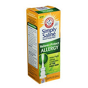 Arm & Hammer Simply Saline Relieve + Protect Allergy Nasal Pump Mist