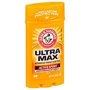 Arm & Hammer Ultra Max Invisible Solid Active Sport Antiperspirant & Deodorant