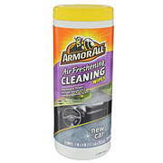 Armor All Air Freshening Auto Cleaning Wipes, New Car Scent