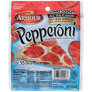 Armour Low Sodium Pepperoni
