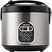 Aroma 20 Cup Stainless Steel Digital Rice Cooker