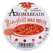 Aromabeads Singles! Coral Honeysuckle Wax Melts