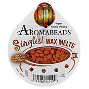 Aromabeads Singles! Warm Rustic Woods Wax Melts