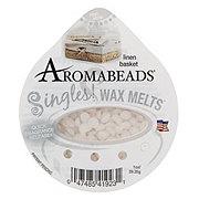 Aromabeads Singles Wax Melts Linen Basket