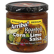 Arriba! Fire Roasted Mexican Corn & Lime Medium Salsa