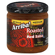 Arriba! Fire Roasted Mexican Red Medium Salsa